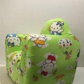 Hello Kitty Yeşil Çocuk Koltuğu Bebek Koltuğu