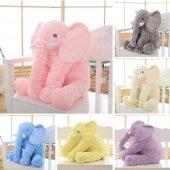 Uyku Arkadaşım Fil 65cm - Peluş Toy Elephant - Büyük Yumuşak FİL-2