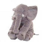 Uyku Arkadaşım Fil 65cm - Peluş Toy Elephant - Büyük Yumuşak FİL-8
