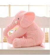Uyku Arkadaşım Fil 65cm - Peluş Toy Elephant - Büyük Yumuşak FİL-3