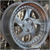 Emr L511 03 6.0x14 4x100 Et35 73.1 Silver Machined...