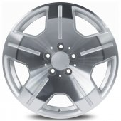Emr 5336 12 8.0x17 4x100 Et35 73.1 Silver Polished...
