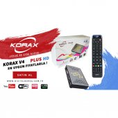 Korax Plus Hd V4 Mini Uydu Alıcısı