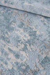 Mavi Renk Modern Salon Yatak Odası Genç Odası Halısı-2