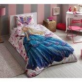 Taç Lisanslı Tek Kişilik Nevresim Barbie Dream