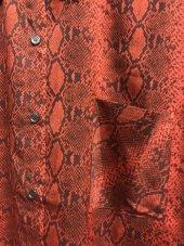 Yılan Desenli Kırmızı Gömlek XSP2173-4