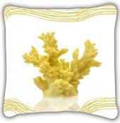 Sarı Yosun İç Dolgulu Yastık Kırlent
