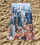 Dijital Baskılı Plaj Havlusu