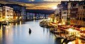Plaj Havlusu Venedik Desenli