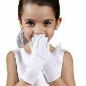 23 Nisan Çocuk Boy Beyaz Pandomim Bandocu Eldiveni Gösteri Eldive