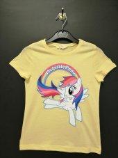 Sarı Renkli Ponny Desenli T Shırt Kod 334