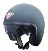 Yohe 859 Açık Motosiklet Kaskı Mat Siyah