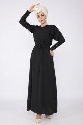 PUANE Kadın Siyah Elbise-5