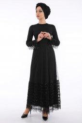 Loreen Kadın Siyah Abiye Elbise