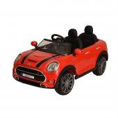 Oyuncak Akülü Mini Cooper Kırmızı