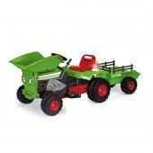 Oyuncak Dump Track Akülü Traktör Yeşil