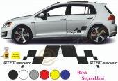 Erzline Hyundai Accent Yan Sport Oto Sticker...