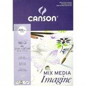 Canson Imagıne Blok 200 Gr A4 50yp