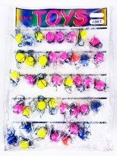 Toys İpli Zıp Zıp Top 40lı Paket Kartelalı