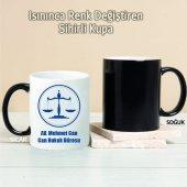 Armalı Avukat Kişiye Özel Sihirli Kupa Pi09