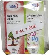 Eurho Vital Zink Plus Juice + Calcium Plus Juice