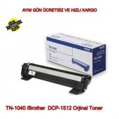 For Tn 1040 Brother Dcp 1512 Orjinal Toner
