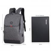 My Valice Smart Bag Busıness Usb Şarj Girişli Akıllı Notebook Sır