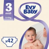 Evy Baby Bebek Bezi Midi 3 Numara 42 Adet Paran İade