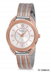 Ferrucci Fc 12596h.03 Rose Renk Hasır Kadın Kol Saati