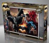 Ks Puzzle 200 Parça Batman&superman Bvs113