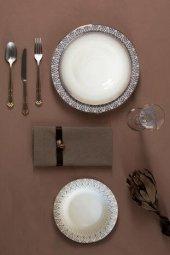 Porland Sweet Romantic 60 Parça Yemek Takımı