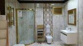 50 X 40 Alüminyum Altın Banyo Wc Panjur-5