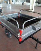 Can ATV Araç Römorku Çok Amaçlı Demonte Römork 90x120cm-3