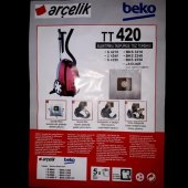 Beko TT420 BKS3210 2240 Elektrikli Süpürge Sentetik 5 Adet Toz To-2