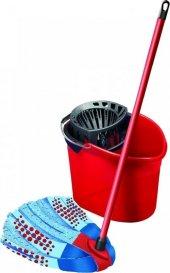 Kırmızı Renk Temizlik Kovası