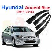 Hyundai Accent Blue (2011+++) Cam Rüzgarlığı Mgen Tip