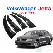 Volkswagen Jetta (2011+++) Cam Rüzgarlığı Mügen Tip