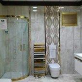 55 x 60 Alüminyum Kollu Altın Banyo Wc Panjur Menfez-4