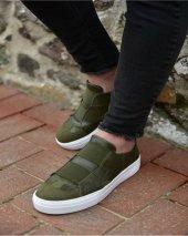 Chekich Ch033 İpekyol Beyaz Taban Erkek Ayakkabı Haki