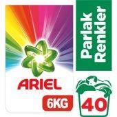 Ariel 6 Kg Toz Çamaşır Deterjanı Parlak Renkler...