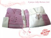 Best Bornoz Seti 8 Parça 100 Cotton