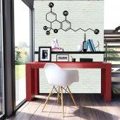 Thc Molekule Metal Poster