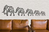 Elephant Family 5 Li Metal Poster