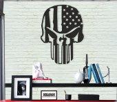 Skull-Metal Poster-2