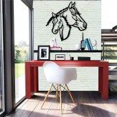 Horses Metal Poster