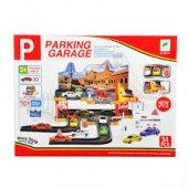 Parkıng Garage 2 Katlı Garaj Oyun Seti