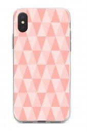 Apple iPhone XS Max Kılıf Triangle Serisi Tessa