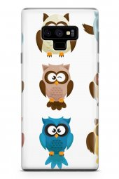 Samsung Galaxy Note 9 Kılıf Owl Serisi Adaline