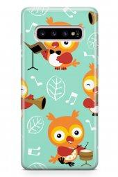 Samsung Galaxy S10 Kılıf Owl Serisi Amaya
