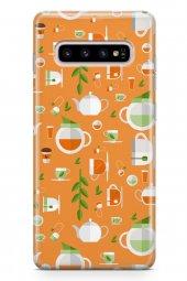 Samsung Galaxy S10 Plus Kılıf Tea Time Serisi Lola